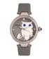 Rosie grey leather owl watch Sale - bertha Sale