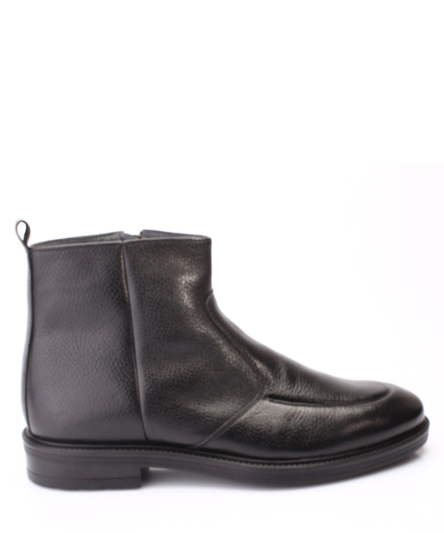Black leather ankle boots Sale - s baker