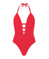 Cindy red plunge swimsuit Sale - alexandra miro Sale