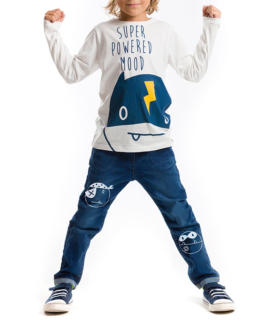 2pc super print cotton blend outfit set Sale - Mushi