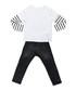 2pc dog print cotton blend outfit set Sale - Mushi Sale