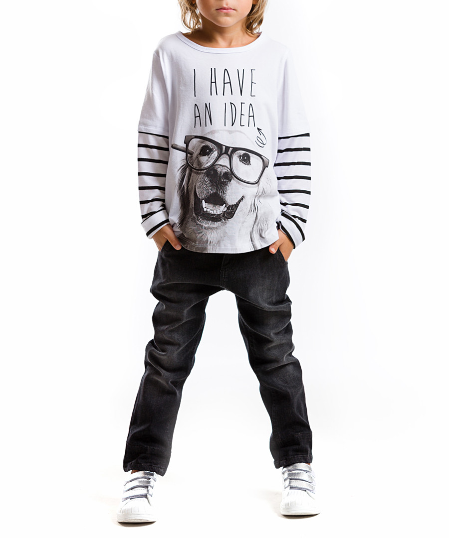 2pc dog print cotton blend outfit set Sale - Mushi