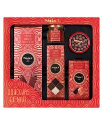 5pc red chocolate box