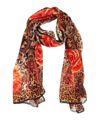 baf789ff80 Orange floral pure silk scarf Sale - roberto cavalli Sale