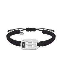 Gemini black sterling bracelet