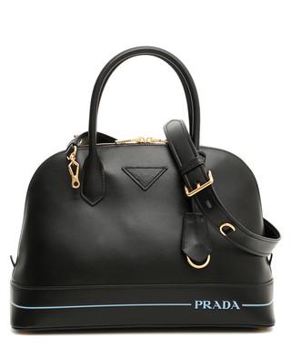 Mirage black leather grab bag Sale - Prada Sale d73f4e61f97b1