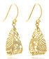 14ct gold-plated drop earrings Sale - fleur envy gaia Sale