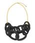 Thrive black & gold-plated horn necklace Sale - fleur envy gaia Sale
