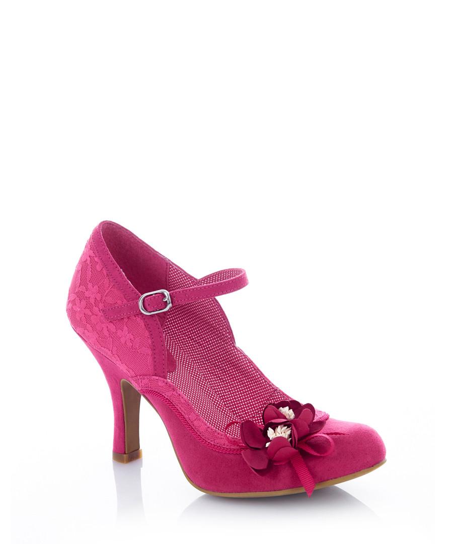 Silvia fuchsia embellished heels Sale - ruby shoo
