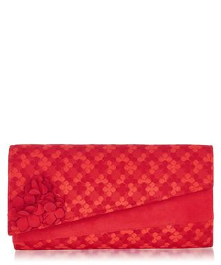 2f9186e0f1b32 Oxford red floral flap clutch bag Sale - ruby shoo Sale