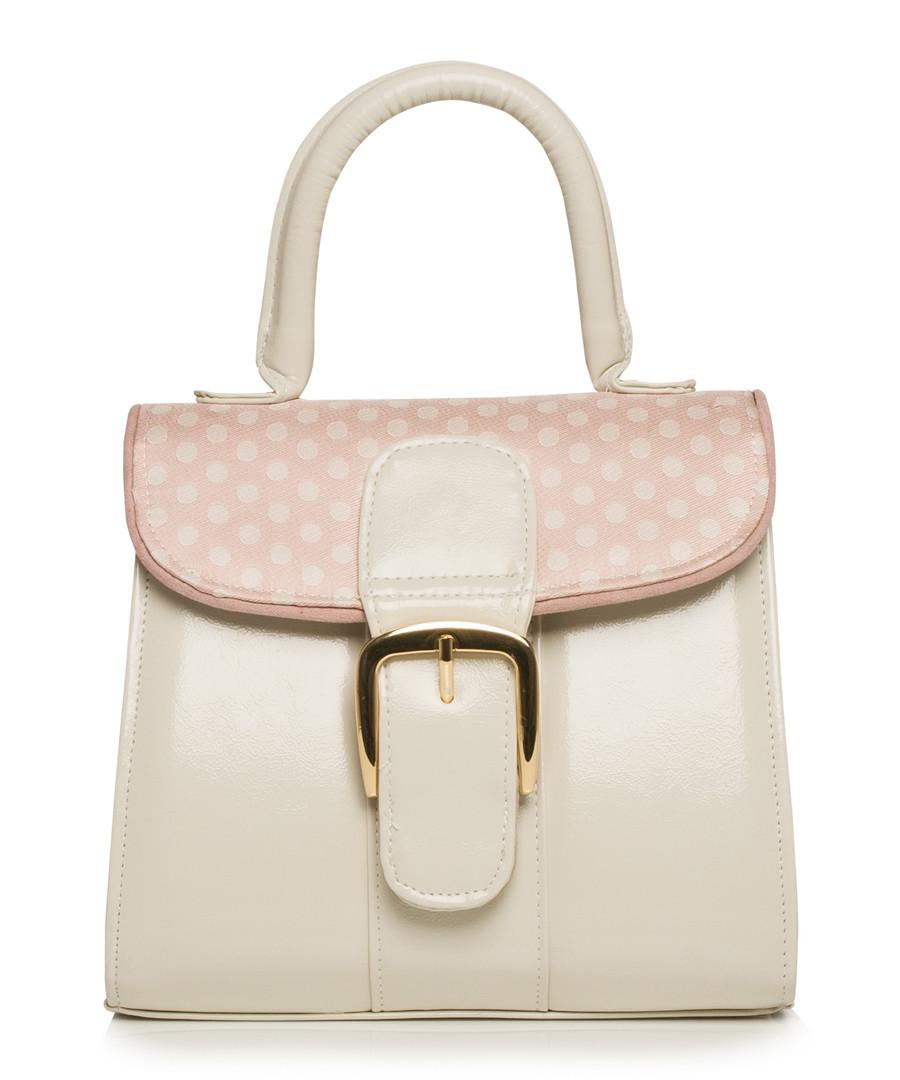 Riva blush spotty buckle grab bag Sale - ruby shoo