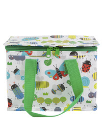 Busy Bugs green lunch bag