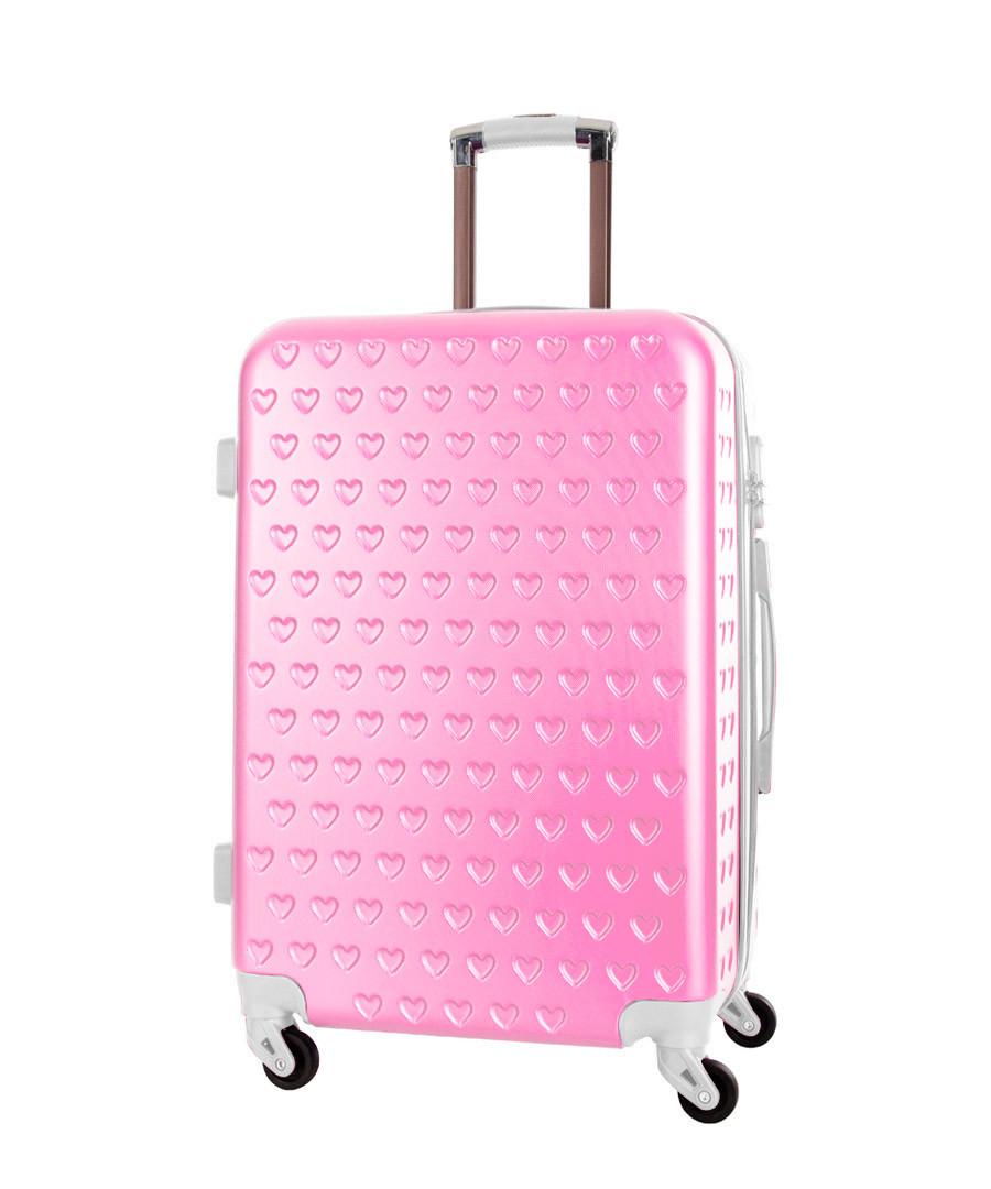 Rhoda pink spinner suitcase 70cm Sale - corinne cobson