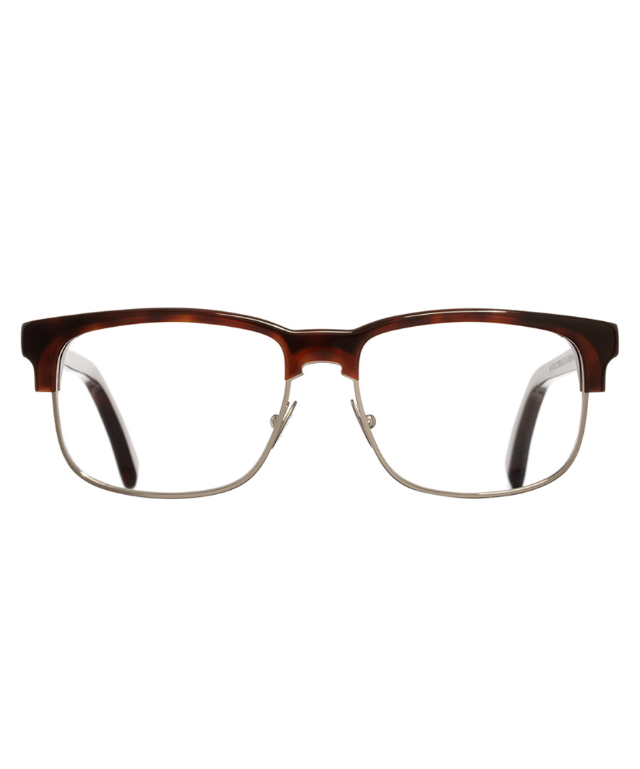 Dark Turtle squared clear lens glasses Sale - cutler and gross