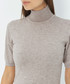 Desert cashmere short sleeve jumper Sale - william de faye Sale