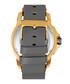 Monarch gold-tone & grey leather watch Sale - reign Sale