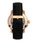 Matheson gold-tone & black leather watch Sale - reign Sale