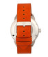 Lafleur steel & orange leather watch Sale - reign Sale