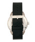 Lafleur steel & black leather watch Sale - reign Sale