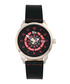 Lafleur steel & black leather watch Sale - reign Sale