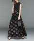 Black sleeveless maxi dress Sale - Kaimilan Sale