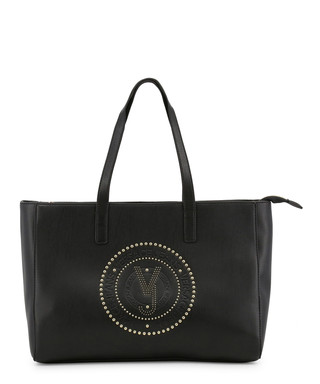 Black studded logo shoulder bag Sale - Versace Jeans Sale 8ae3e7316f8fe