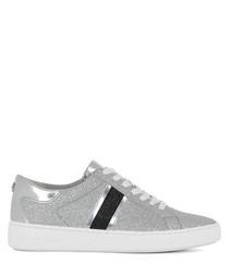 Keaton grey leather sneakers