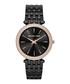 Black & rose gold-tone steel watch Sale - michael kors Sale