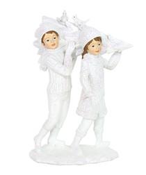 White christmas ornament