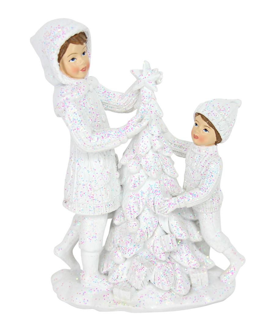 White christmas ornament Sale - Gisela Graham LTD