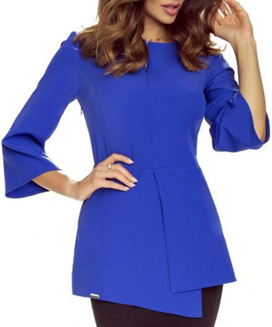 Blue panel blouse Sale - bergamo
