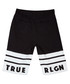 Boys' black cotton logo shorts Sale - true religion Sale