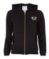 Black cotton blend logo zip-up hoodie Sale - TRUE RELIGION Sale