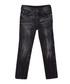Black creased cotton blend jeans Sale - true religion Sale
