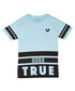 Kids' light blue cotton T-shirt Sale - true religion Sale