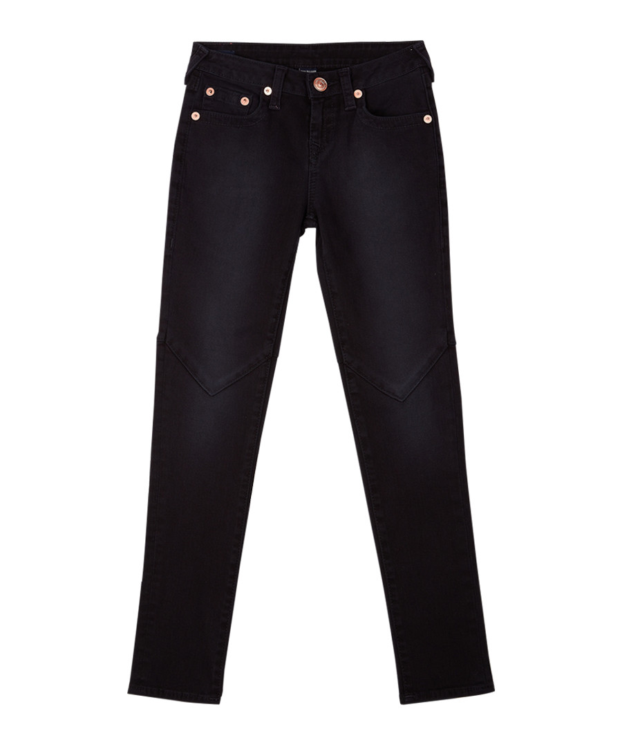 Girls' indigo cotton jeans Sale - true religion