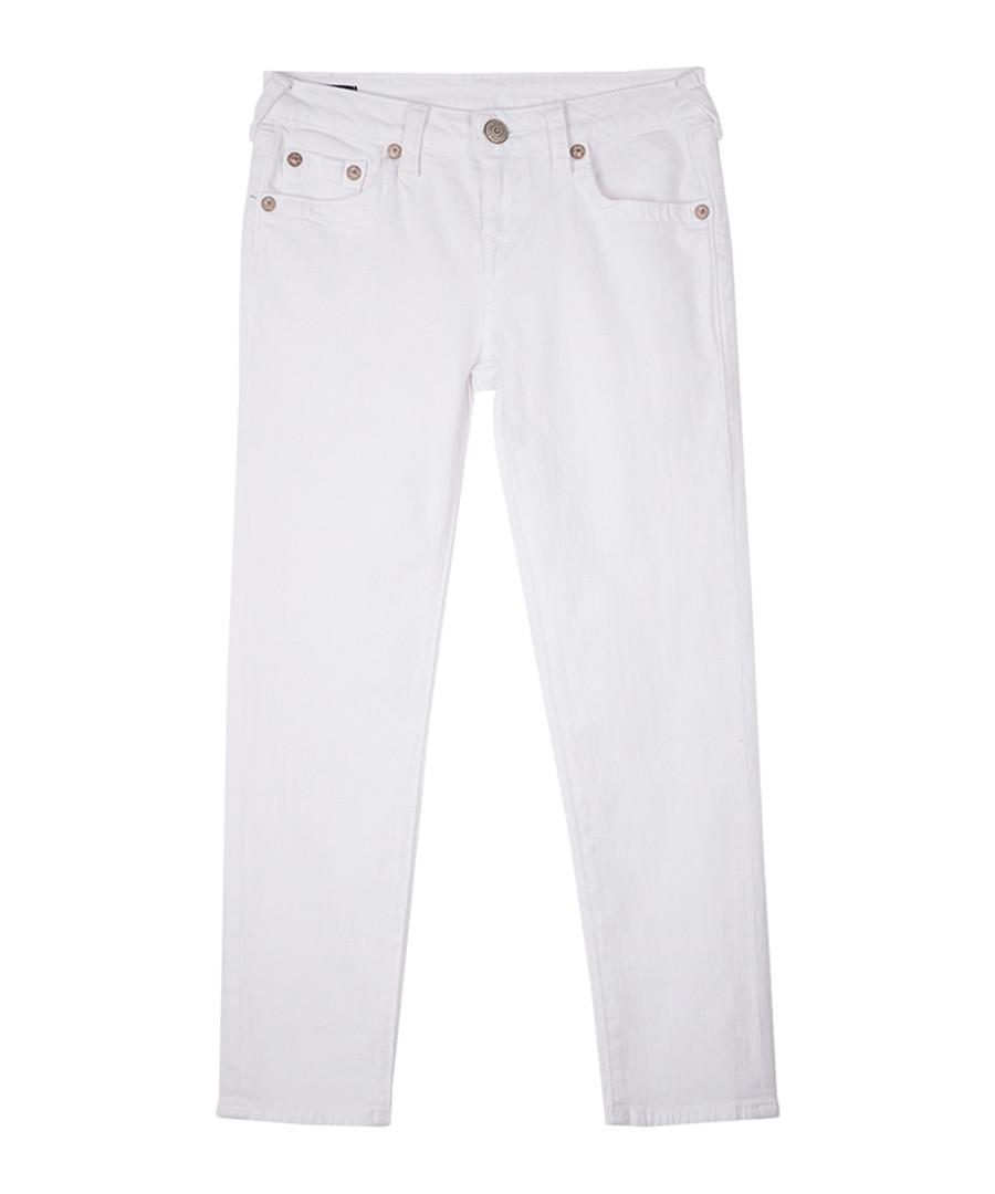 Girls' white cotton jeans Sale - true religion