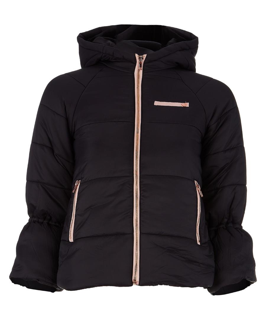 Girls' black quilted jacket Sale - true religion