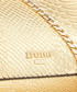 Erina gold-tone snake-effect crossbody Sale - dune Sale