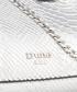 Erina silver-tone snake-effect crossbody Sale - dune Sale