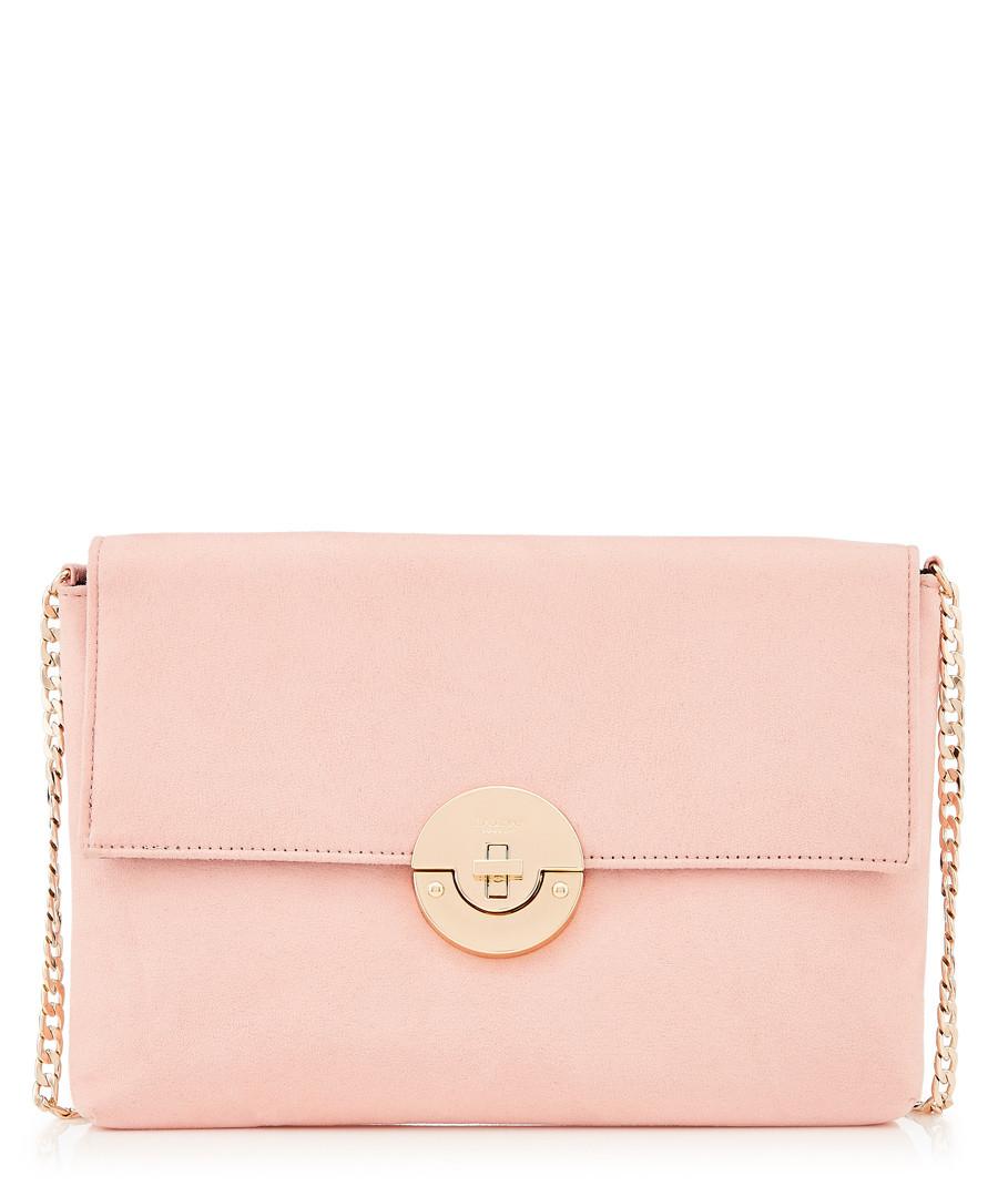 Cindy pale pink classic clutch bag Sale - dune