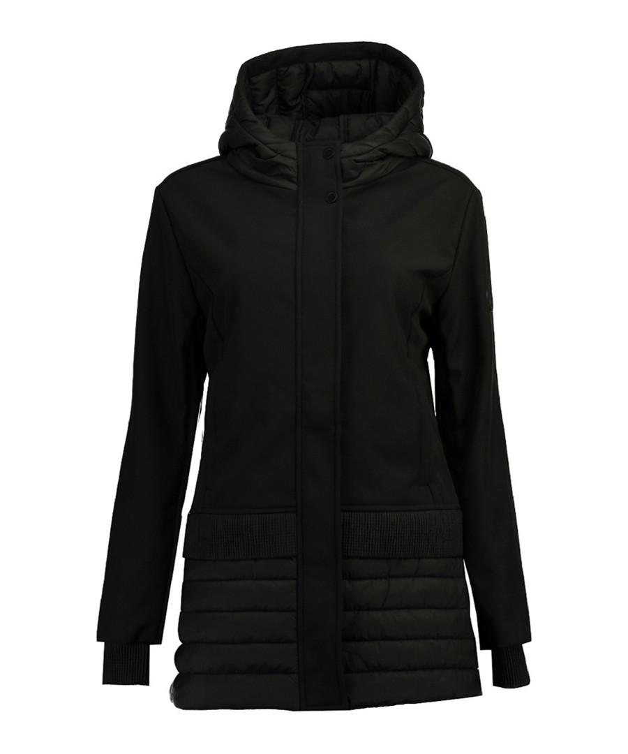 Black padding detail jacket Sale - Geographical Norway