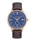 Gold-tone & brown leather watch Sale - gant Sale