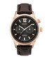 Gold-tone steel & brown leather watch Sale - gant Sale