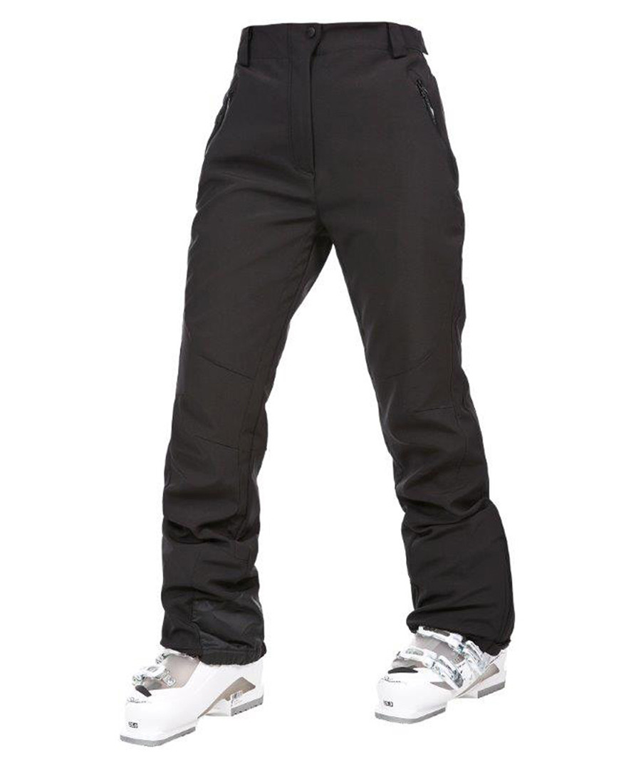 Black waterproof shell ski trousers Sale - Trespass