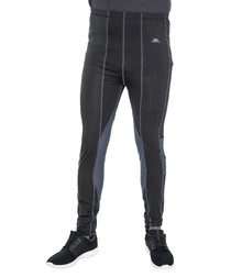 Men's Black X baselayer ski leggings