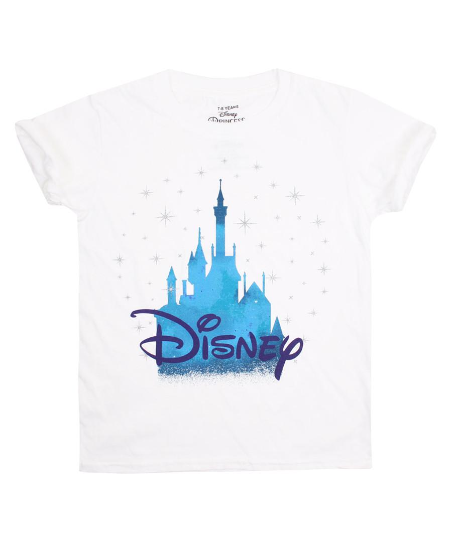 Girls' Castle white oversized T-shirt Sale - disney