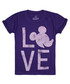 Girls' Love Mickey purple T-shirt Sale - disney Sale
