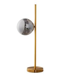 Sphere duo-tone metal table lamp