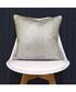 Arora silver cotton cushion 45cm Sale - riva paoletti Sale